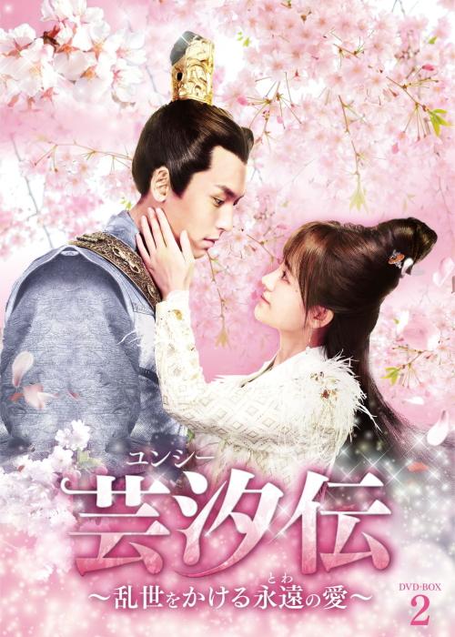 芸汐<ユンシー>伝 ~乱世をかける永遠の愛~ DVD-BOX2