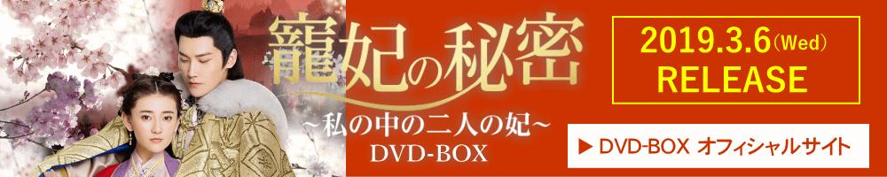 寵妃の秘密 ~私の中の二人の妃~DVD-BOX
